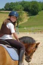 Portrait Maelys poney